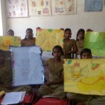 Anjali and Babita Barsthi Jaunpur - Poster Activity