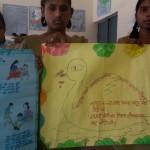 Anjali and Babita Barsthi Jaunpur - Slogan