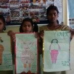 From Left Anjali Shashikala and Khushboo Barsthi Jaunpur - Poster