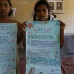From Left Jyoti and palak Barsthi Jaunpur - Poster