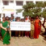 awareness march Bahadurpur Alahabad